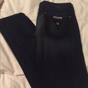 Hudson dark wash jeans